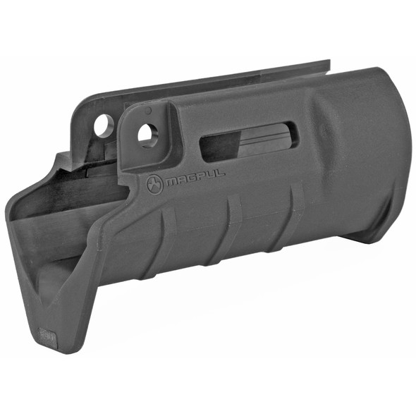 The Magpul SL Hand Guard for the SP89/MP5K is a high-strength, injection-molded polymer handguard solution that provides the user with improved ergonomics, anti-slip texturing, and M-LOK compatible slots allow mounting of modern accessories. It's an injection-molded handguard solution for SP89/MP5K and clones that provides increased utility and enhanced control of the firearm. The SL Hand Guard offers M-LOK compatible slots at the 3, 6, and 9 o'clock positions, and features a large muzzle-end hand stop, similar to the HK K-style handguard. Also compatible with the HK SP5K-PDW.