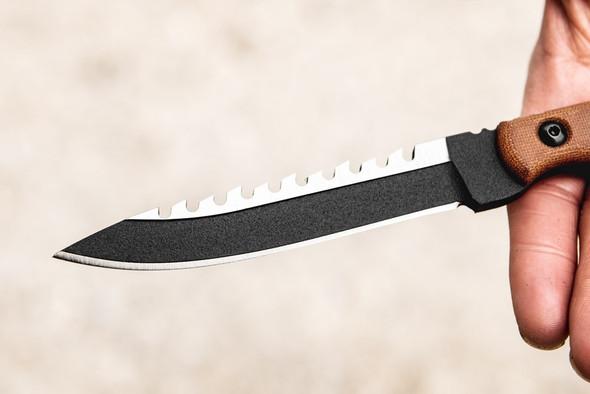 Tops Ranger BootLegger 2 w/Sawback Fixed Blade Knives