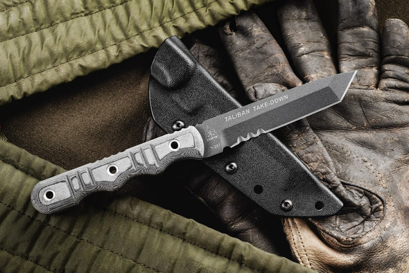 Tops Taliban Take Down Fixed Blade Knives
