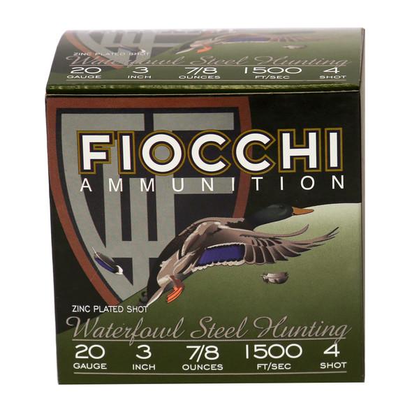Fiocchi Flyway Steel Waterfowl 20GA Ammunition 25rds