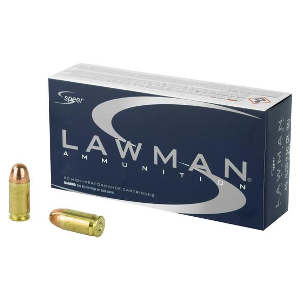 Speer Lawman .45 ACP 230gr TMJ Ammunition 50rds