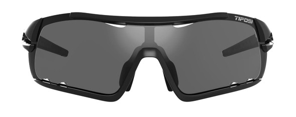 Tifosi Davos Matte Black With Smoke/AC Red/Clear Lenses