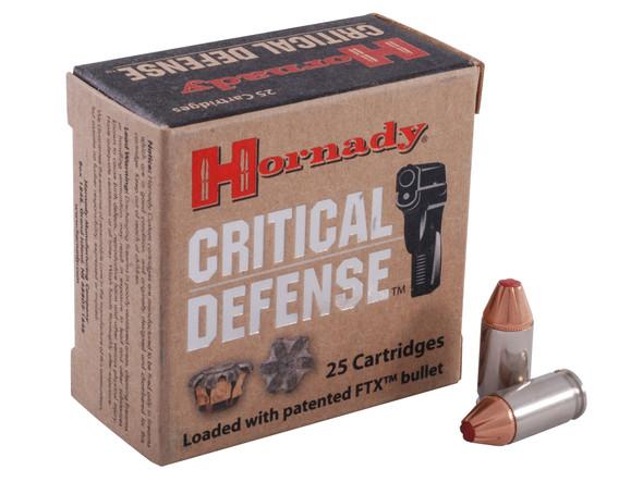 Hornady Critical Defense 380ACP 90gr Flex Tip eXpanding 25rds
