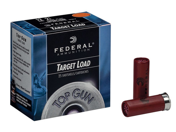"Federal Top Gun 12GA 2.75"" 1 1/8 oz 7.5 Shot 25rds"