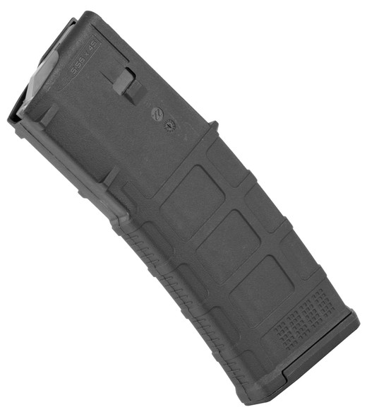The PMAG 30 AR/M4 GEN M2 MOE is a 30-round 5.56x45 NATO (.223 Remington) AR15/M4 compatible magazine that offers a cost competitive upgrade from the aluminum USGI. It features an impact resistant polymer construction, easy to disassemble design with a flared floorplate for positive magazine extraction, resilient stainless steel spring for corrosion resistance, and an anti-tilt, self-lubricating follower for increased reliability. Not compatible with SA80 and HK416, or similar, platforms.