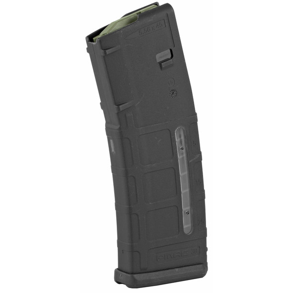 The PMAG 30 AR/M4 GEN M2 MOE Window is a 30-round 5.56x45 NATO (.223 Remington) AR15/M4 compatible magazine that offers a cost competitive upgrade from the aluminum USGI. It features an impact resistant polymer construction, easy to disassemble design with a flared floorplate for positive magazine extraction, resilient stainless steel spring for corrosion resistance, and an anti-tilt, self-lubricating follower for increased reliability. Not compatible with SA80 and HK416, or similar, platforms.
