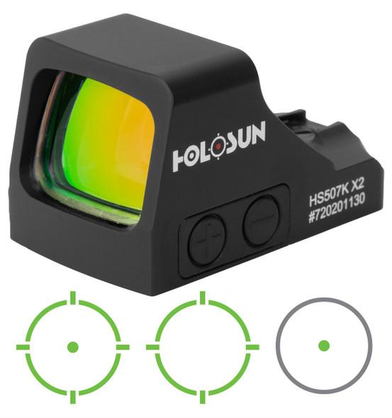 Holosun HE507K-GR-X2 Micro Reflex Sights Green Reticle