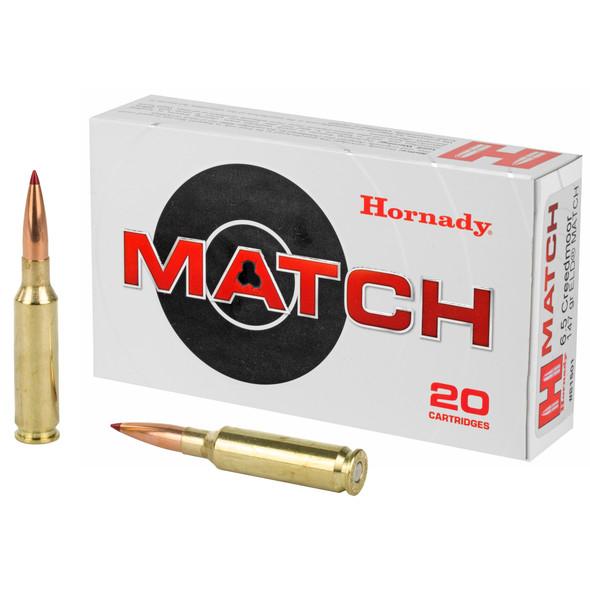 Hornady 6.5 Credmoor 147gr ELD Match Ammunition 20rds