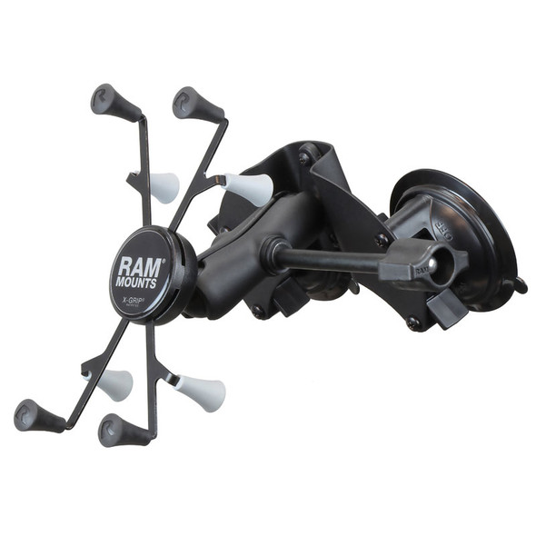 """RAM  X-Grip  with RAM  Twist-Loc  Dual Suction for 7""""-8"""" Tablets"""