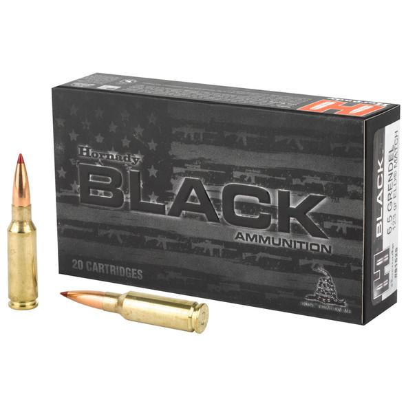 Hornady Black 6.5 Grendel 123gr Extremely Low Drag-Match Ammunition 20rds
