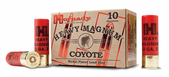 "Heavy Magnum Coyote 12ga 3"" Buckshot 10rds"