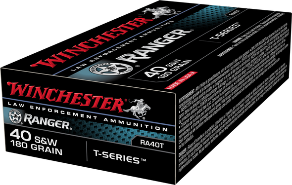 Threat stopping performance. It's what makes Ranger T-Series the trusted duty load law enforcement agencies across America. The bullet's patented, segment engineered design enhances expansion, penetration and weight retention through a variety of intervening barriers.
