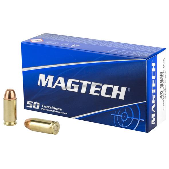 Magtech .40 S&W 180gr FMJ Ammunition 50rds