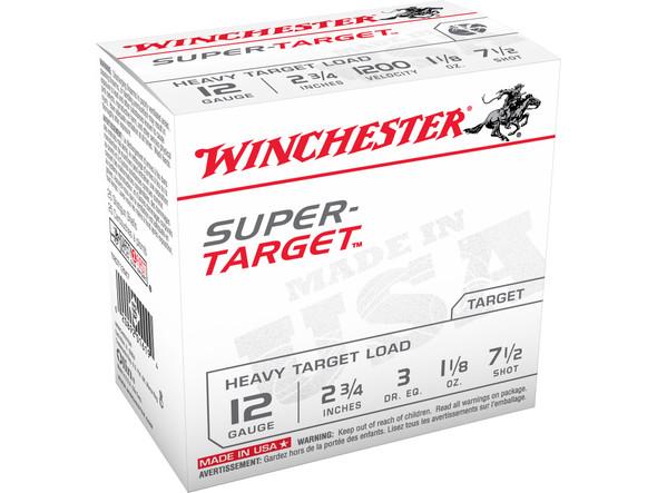 "Winchester 12GA  2-3/4"" 1oz Super-Target Ammunition"