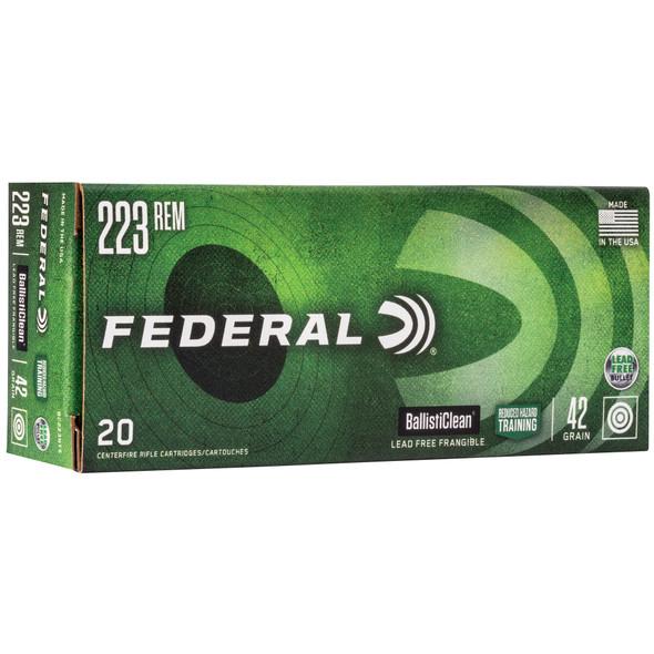 Federal Ballisticlean .223 Remington 42gr Frangible Ammunition 20rds