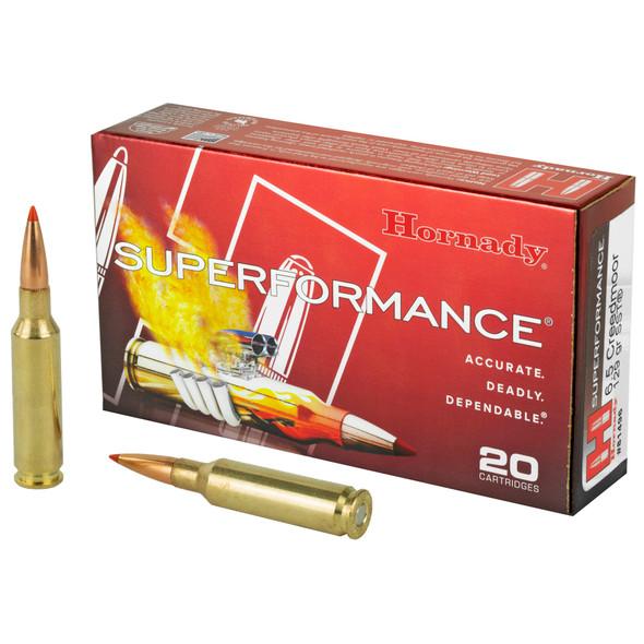 Hornady Superformance 6.5 CREEDMOOR 129gr SST Ammunition 20rds