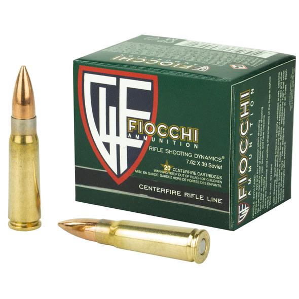 Fiocchi 762X39mm 124gr FMJ Ammunition 20rds