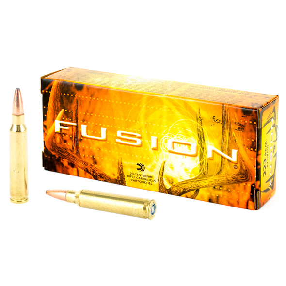 Federal Fusion .223 Remington 62gr Boat Tail Ammunition 20rds