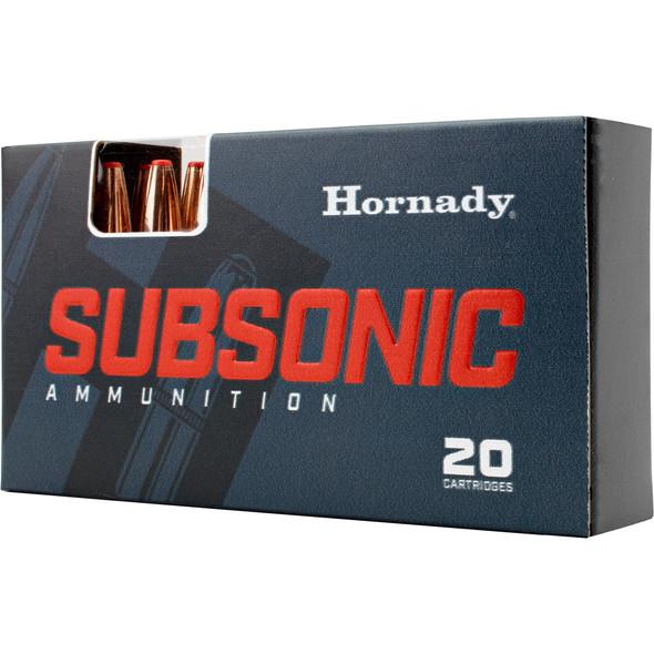 Hornady Subsonic 450 Bushmaster 395gr Sub-X Ammunition 20rds
