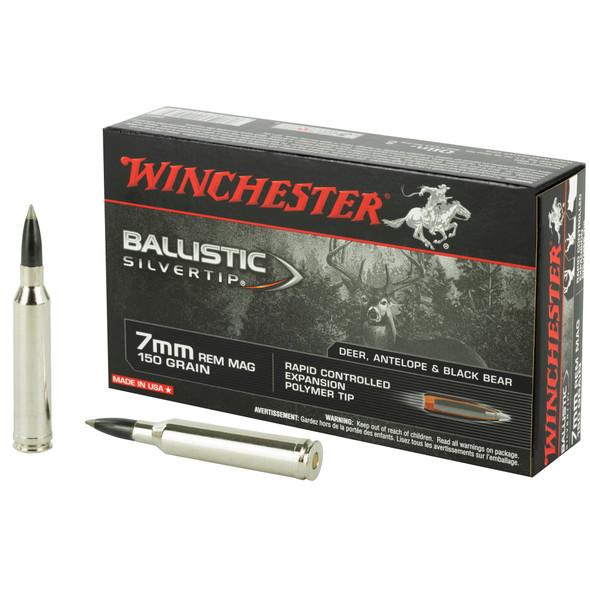 Winchester Ballistic Silvertip 7mm Remington 150gr Ammunition 20rds