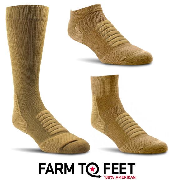 Farm To Feet Fayetteville Light Targeted Cushion Socks