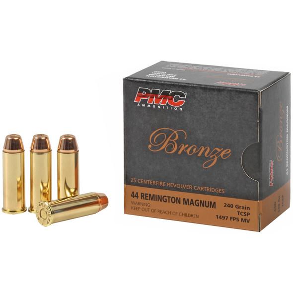 PMC, PMC Bronze .44 Magnum 240gr Truncated Cone Soft Point Ammunition 25rds