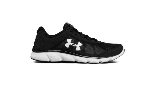 Under Armour 3020673-002 Micro G Assert 7 Road Black Running Shoes