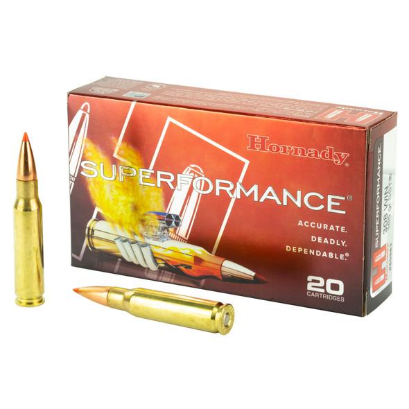 Hornady SuperFormance .308 Winchester 165gr Ammunition 20rds