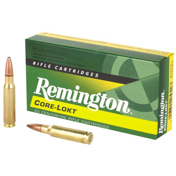 Remington Core Lokt .308 Winchester 180gr Pointed Soft Point Ammunition 20rds