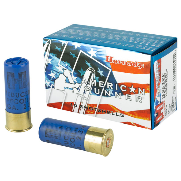 The American Gunner(R) line of ammunition is a collection of tried-and-true, versatile loads that are popular with shooters for their target shooting, hunting or self-defense needs. Made in the USA with premium components, American Gunner(R) ammunition combines generations of ballistics know-how with modern technology.