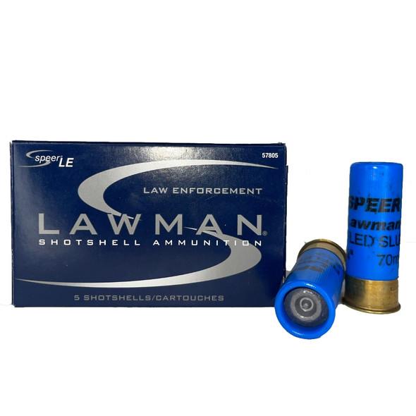 Speer Lawman 1oz Rifled Slug Box of 5