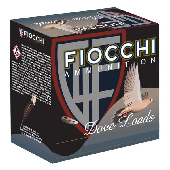 """Fiocchi 12GT8 Game & Target 12 Gauge 2.75"""" 1 oz 8 Shot 25"""