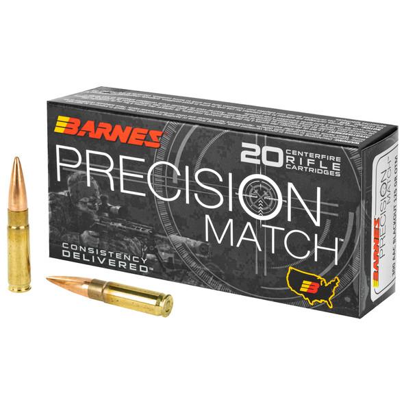 Barnes Precision Match Burner 300 Blackout 125gr Open Tip Match BT Ammunition 20rds