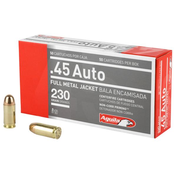 Aguila 45 ACP 230gr FMJ Ammunition 50rds