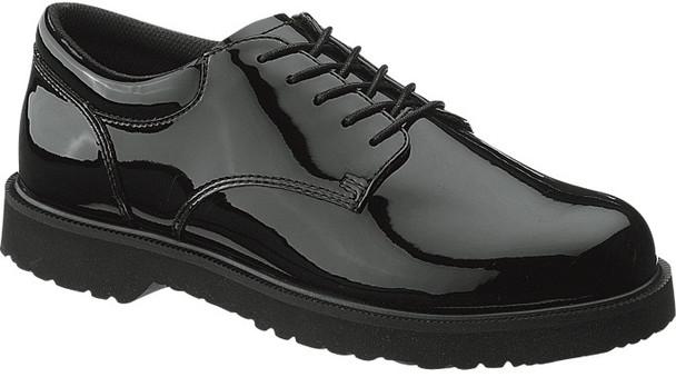 Bates E22141 Black High Gloss Duty Oxford Shoes