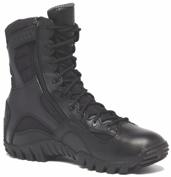 Belleville TR960Z KHYBER Hot Weather Lightweight Side-Zip Tactical Boots, Black