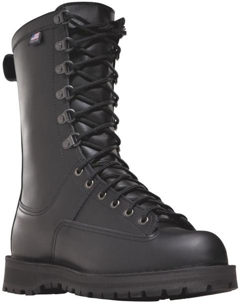 """Danner 69110 Fort Lewis 10"""" Black 200G Boots"""