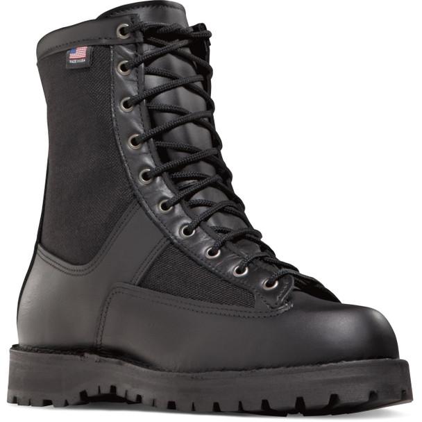 """Danner 21210 Men's/Women's Acadia 8"""" Black Boots"""