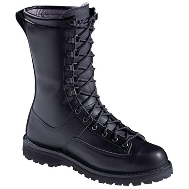 """Danner 29110 Men's/Women's Fort Lewis 10"""" Black Boots"""