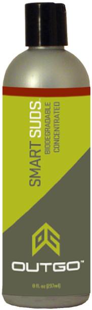 Outgo Smart Suds Soap 8oz Bottle