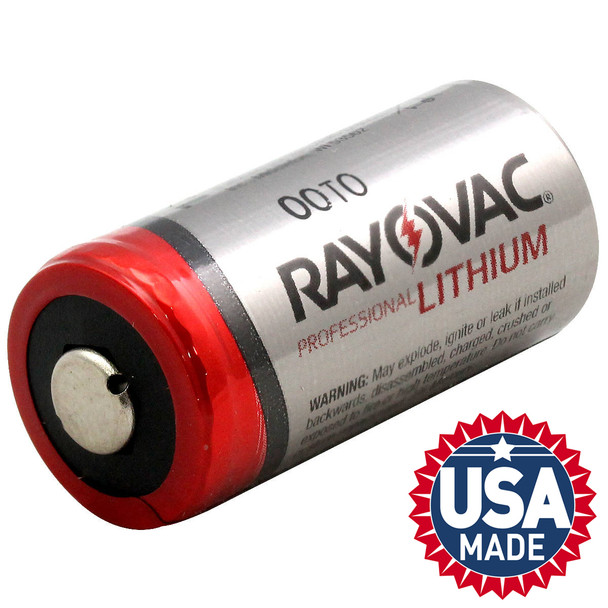 Rayovac RL123A 3-Volt Lithium Batteries 6/Pack