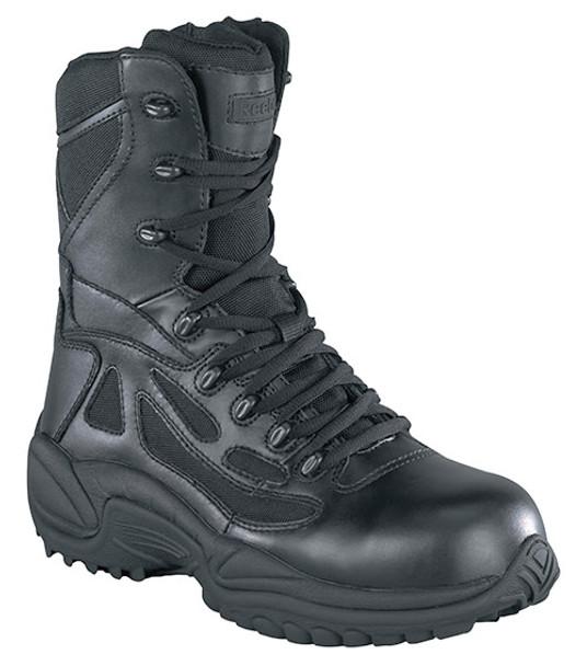 Reebok RB877 Women Waterproof Side Zip Tactical Boots