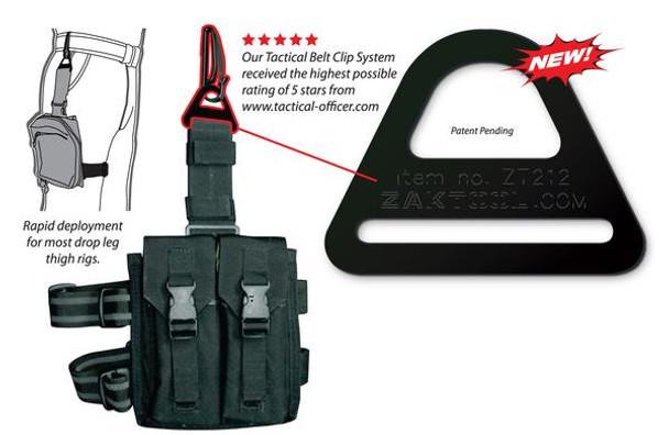 Zak Tool 212 Tactical Belt Clip System