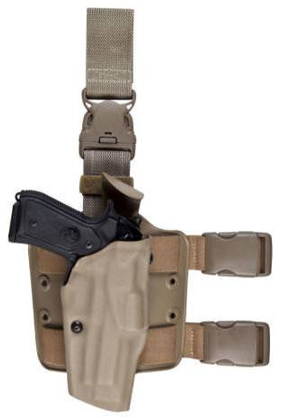 Safariland 6385 ALS OMV Tactical Holsters w/Quick Release Strap