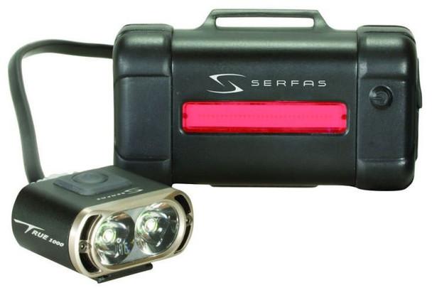 Serfas 1000 Lumen Headlight & Taillight Combo