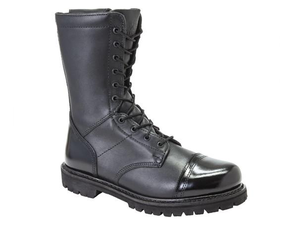 Rocky 2090 Jump Boot 10 in. Boots w/Side Zipper BLACK