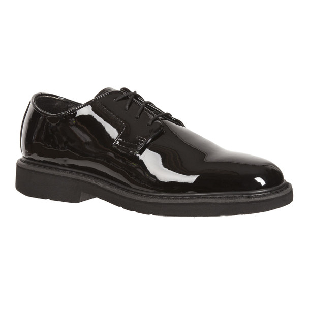 Rocky 510-8 High Gloss Dress Leather Oxford Shoes BLACK