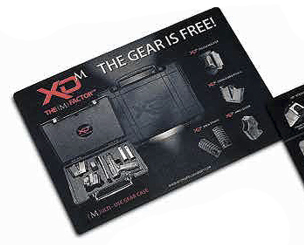 Springfield Armory XDM Case Cleaning Mat