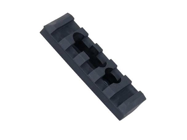 Ergo-4750   5-slot Polymer M1913 RAIL (1 mounting hole, 1 slot w/ Hardware)