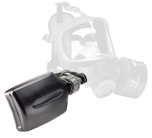 Scott NBC Military Grade Water Bottle 1L w/ Cap for Gas Mask